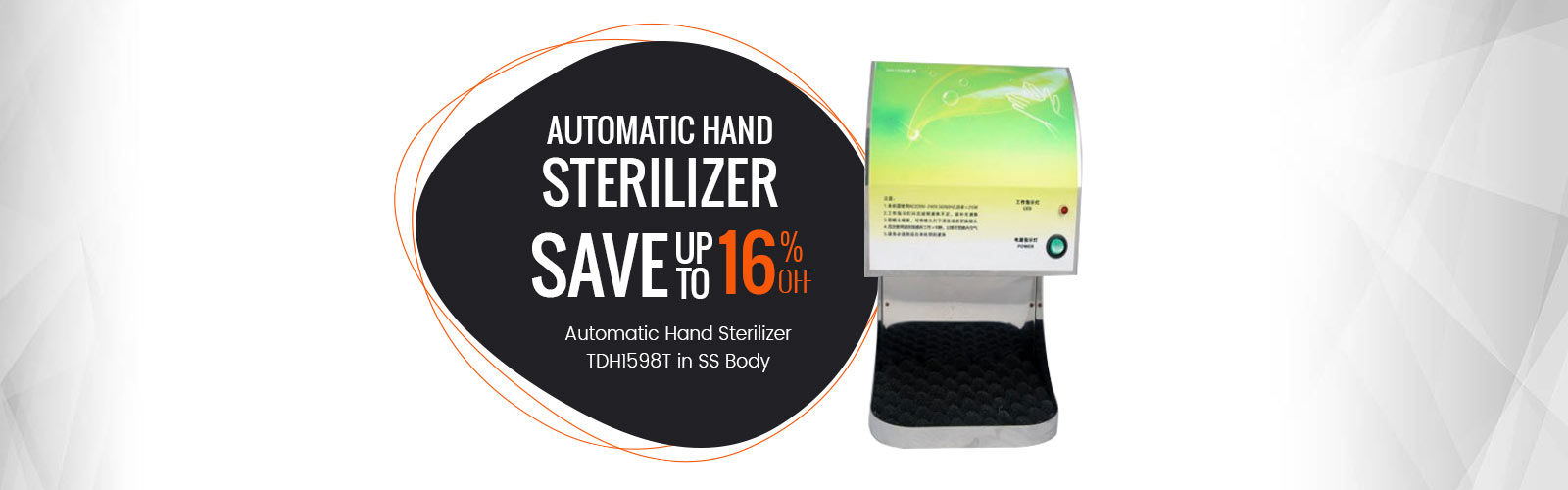 Maximize Hygiene <span> Automatic Hand Sterilizer