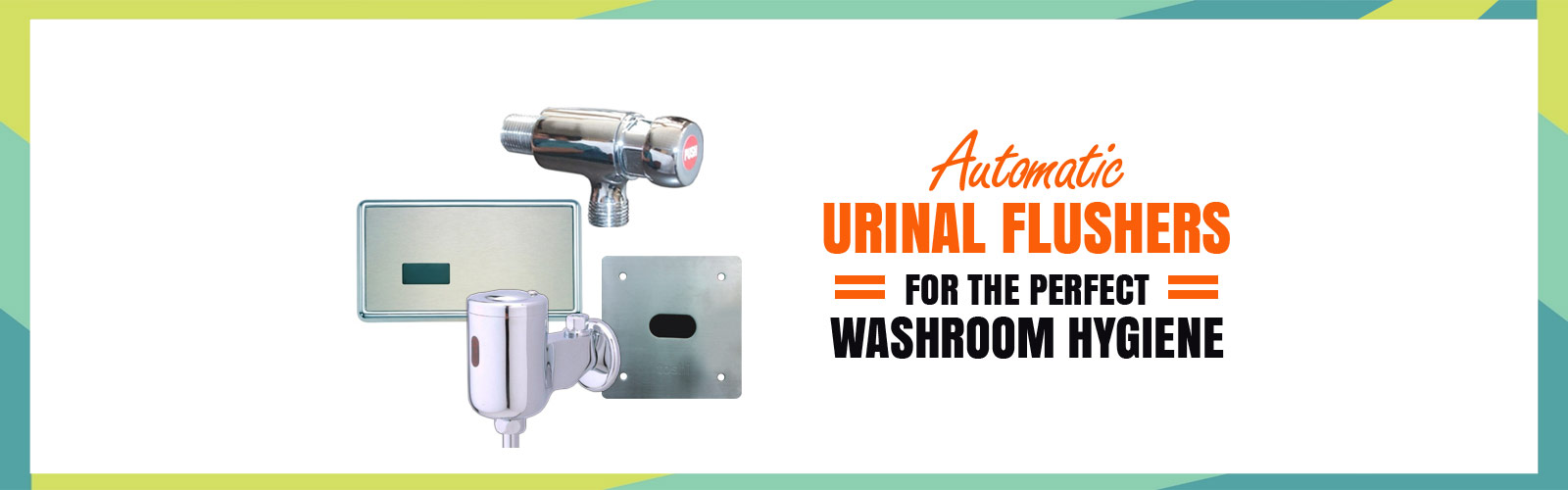 Auto Urinal Flusher <span> Washroom Hygiene