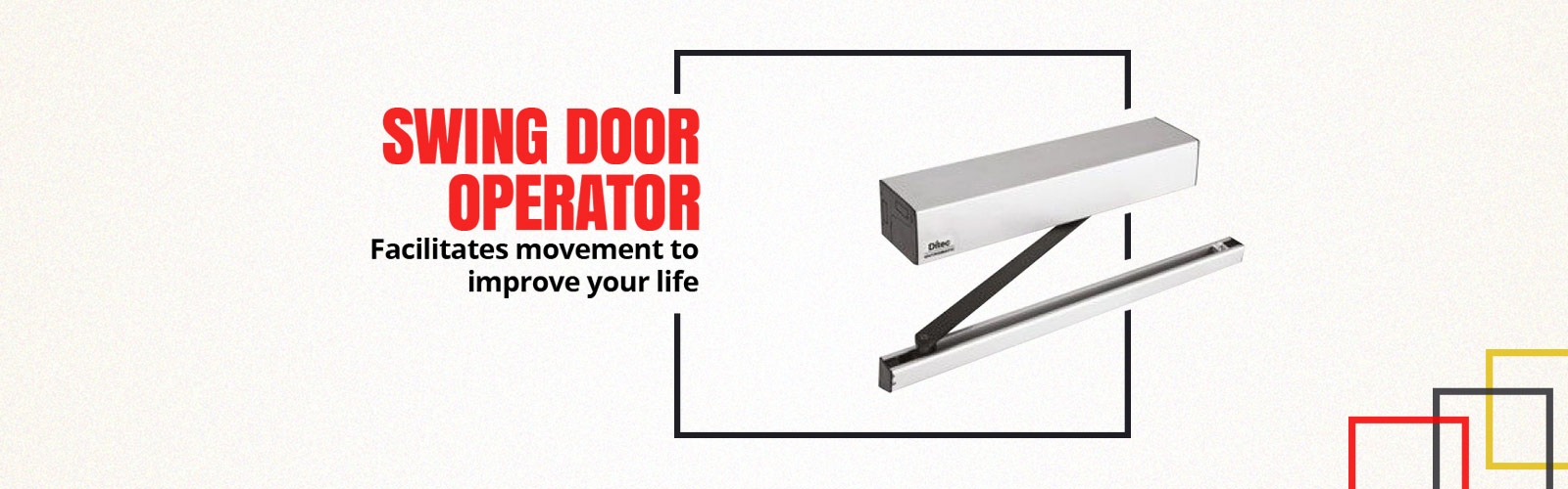 Swing Door Operator <span> Easy to Operate
