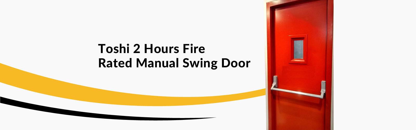 Fire Rated <span> Manual Swing Door