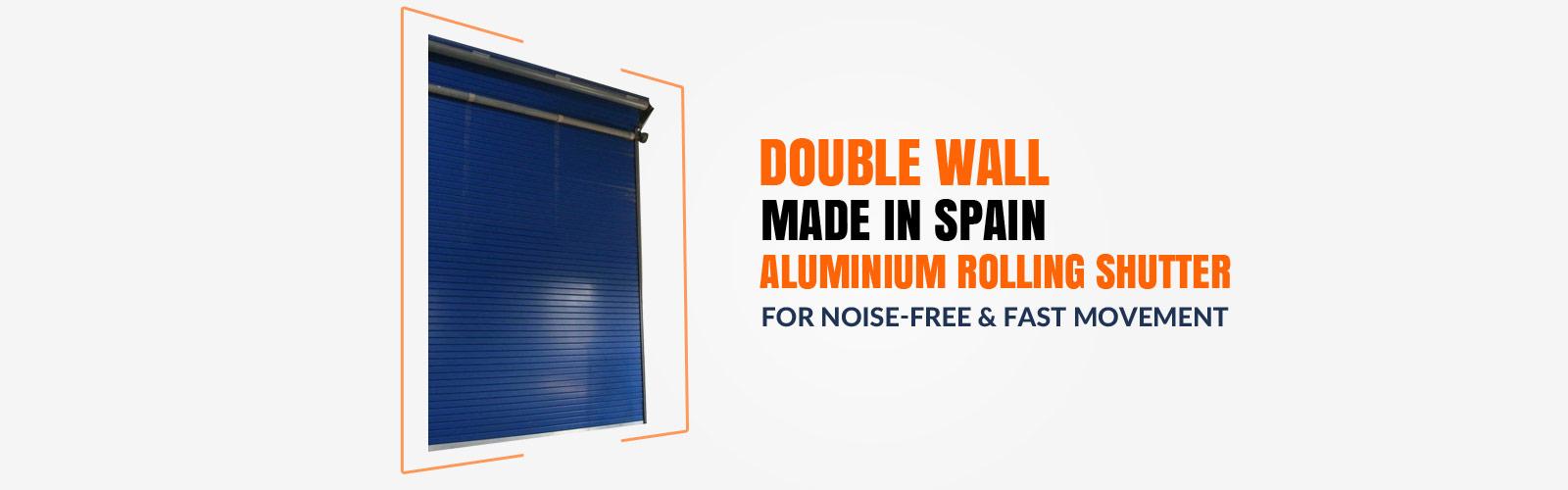Aluminium Rolling Shutter <span> Made in Spain