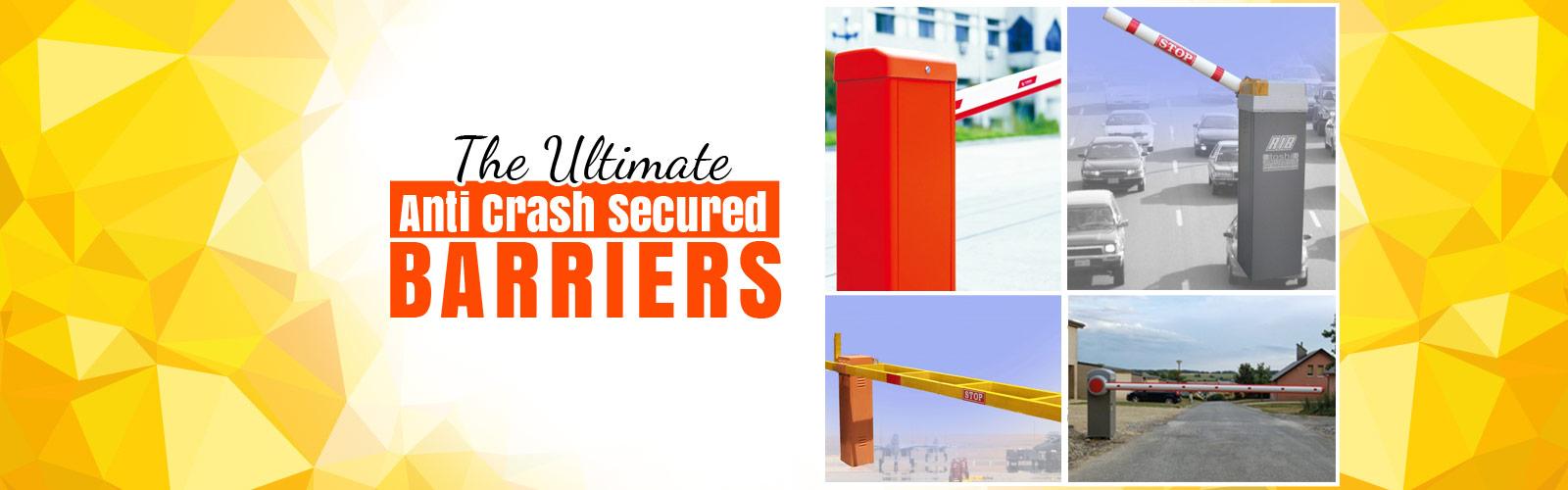 Anti Crash Barrier <span> Secured Entrance