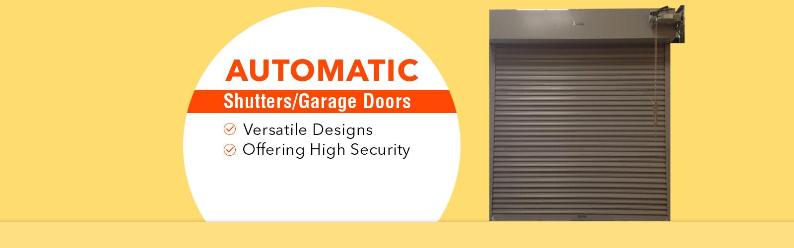 Automatic Shutter <span> Versatile Design