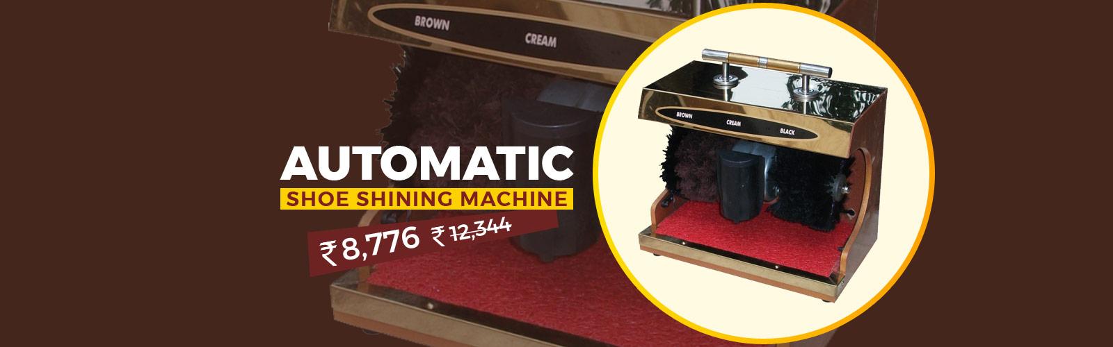 Shoe Shine Machine <span> For Shiny Shoes