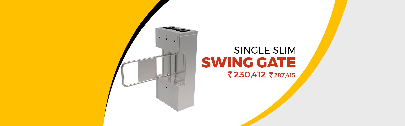 Single Slim <span> Swing Gate