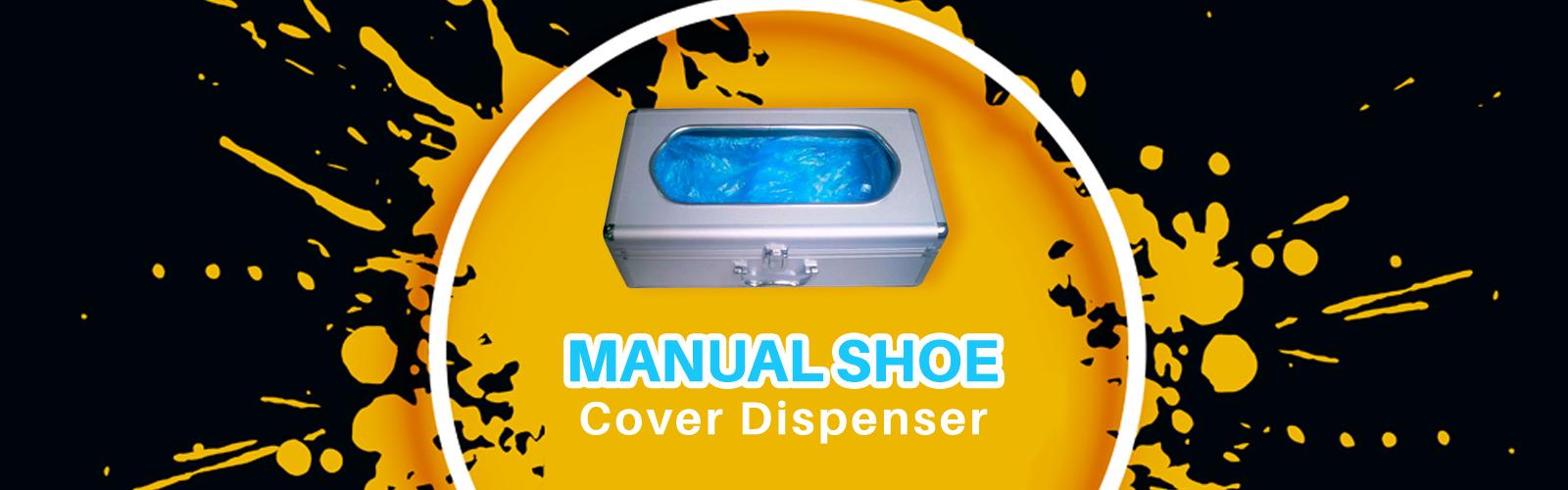 Manual Shoe Cover <span> Dispenser