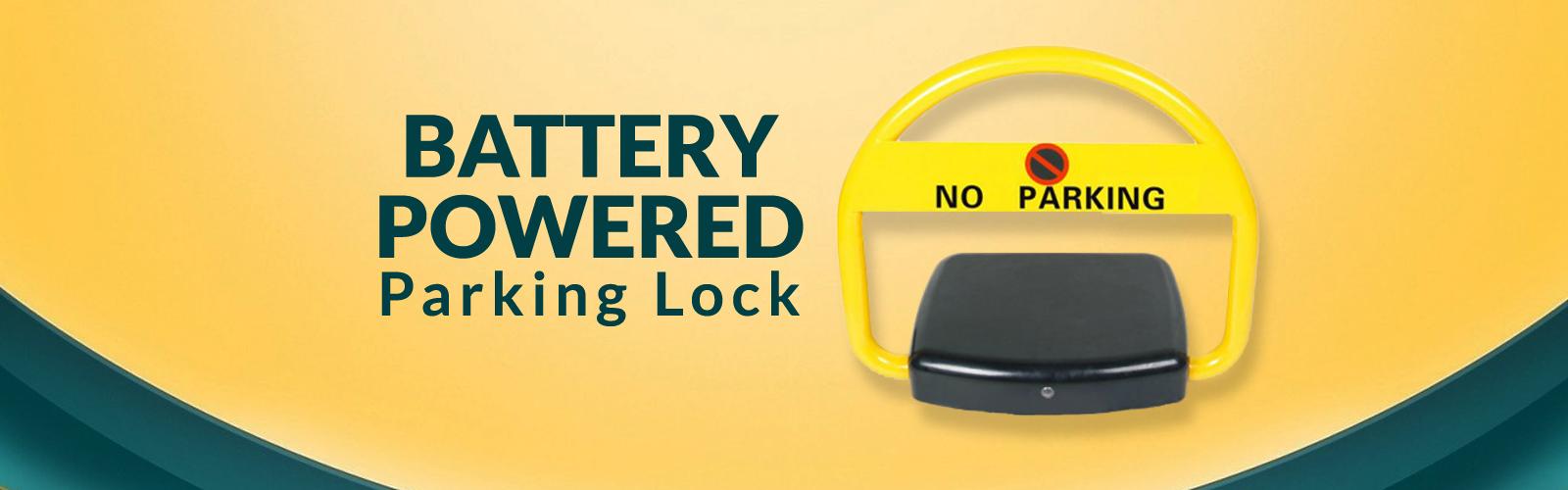 Battery Powered <span> Parking Lock