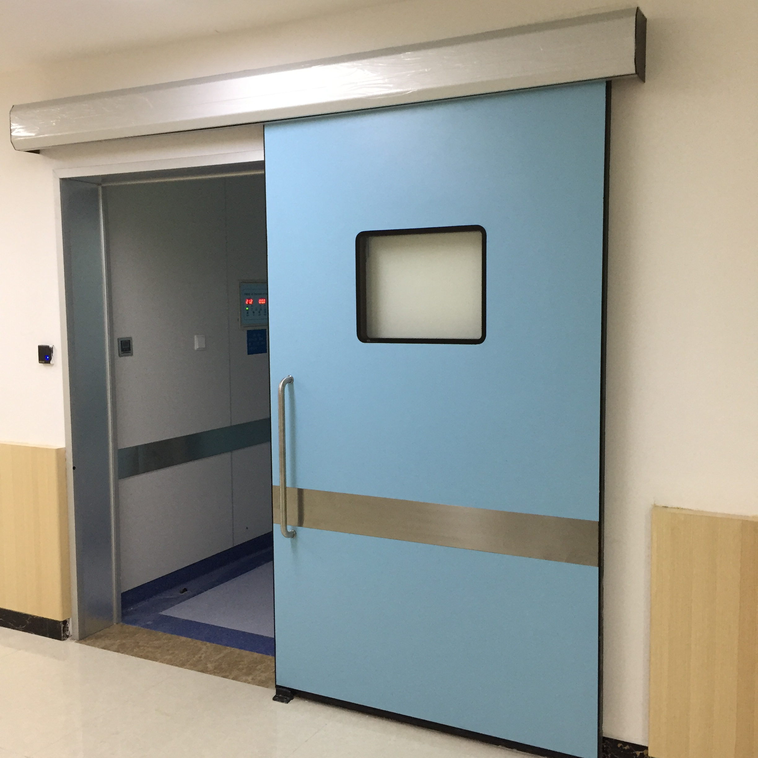 Hygiene Control Doors for the Hospitals & Healthcare Sector