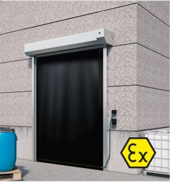 Dynaco High Speed Door Explosion safe - Atex