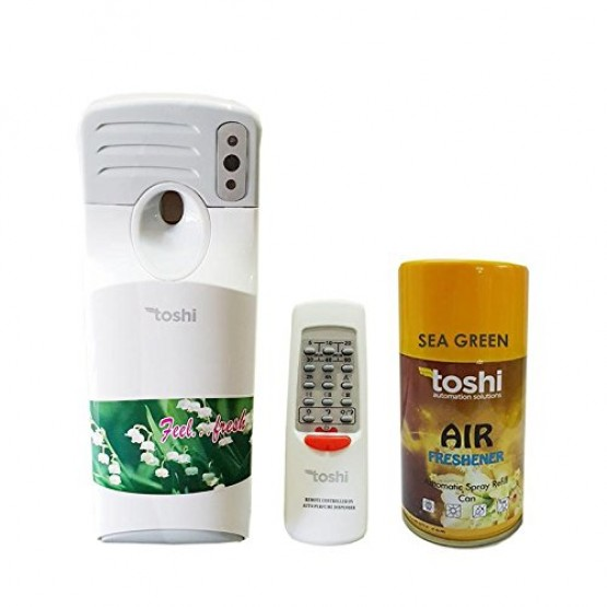 Remote Air Freshener with 1 Can