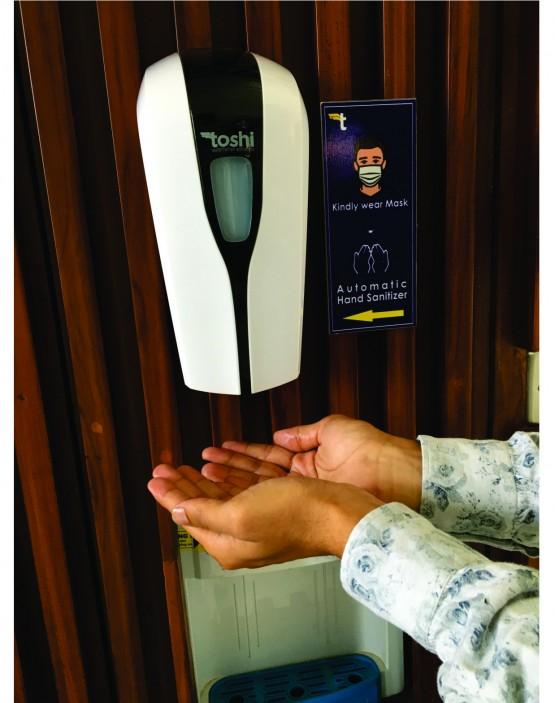 Contactless Sanitizer Dispenser