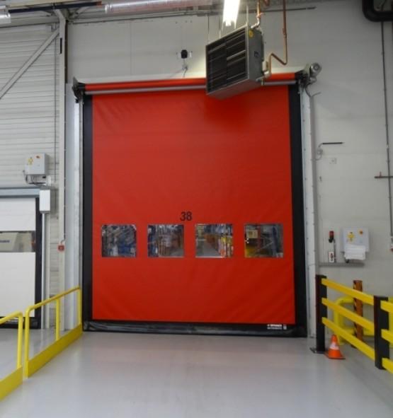 Dynaco High Speed Roll Up Door
