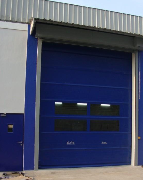 High Speed Self Repairable Roll Up Door