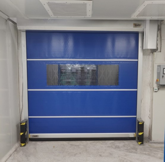 Star Roll UP Door with Modular Curtain