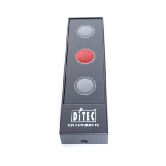 3 Button Push Button Box