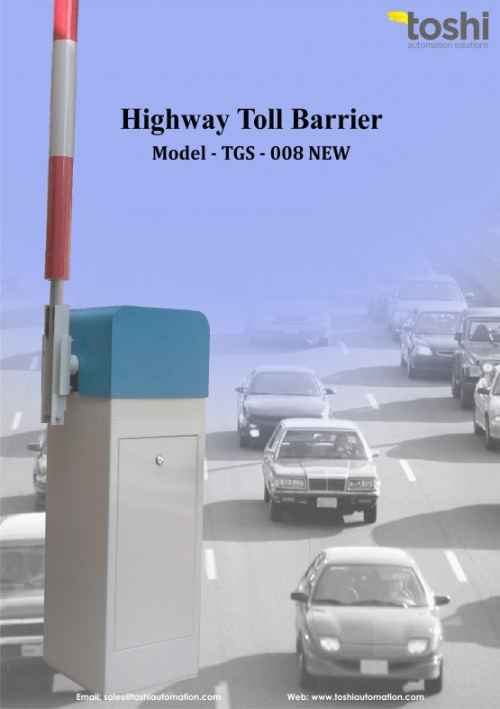Highway Auto Toll Barrier