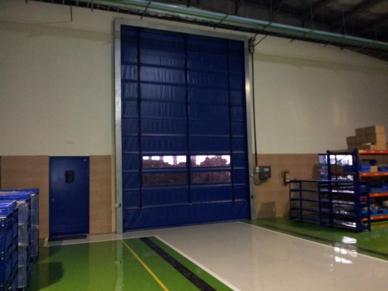 Star Fold Up Door with S5 Controller