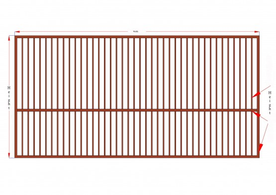 MS Steel Gate-L1 Design