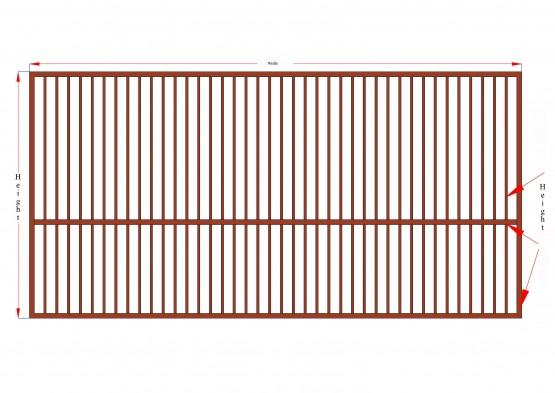 MS Steel Gate-L1 Design