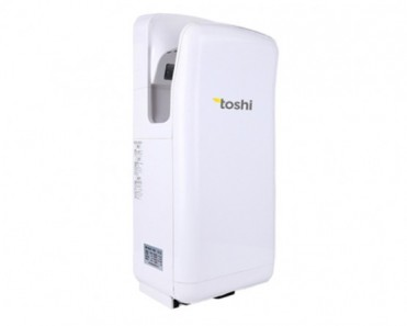Toshi Dual-side High Speed Jet Hand Dryer in ABS body