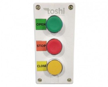 3 Push Button - Open-Stop-Close in ABS Body