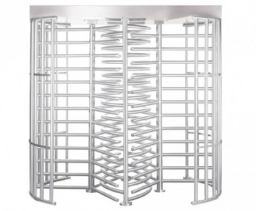 Full Height Dual Lane Turnstile