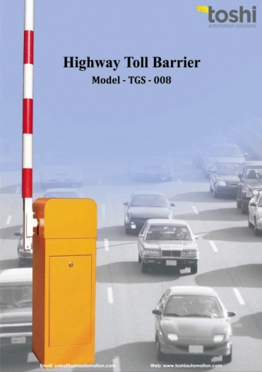 Auto Toll Barrier