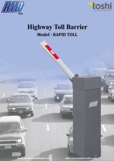 Auto Boom Toll Barrier