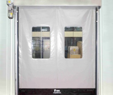 High Speed Zipper Roll Up Door